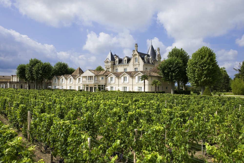 Château hôtel Grand Barrail vue château4 Saint Emilionb