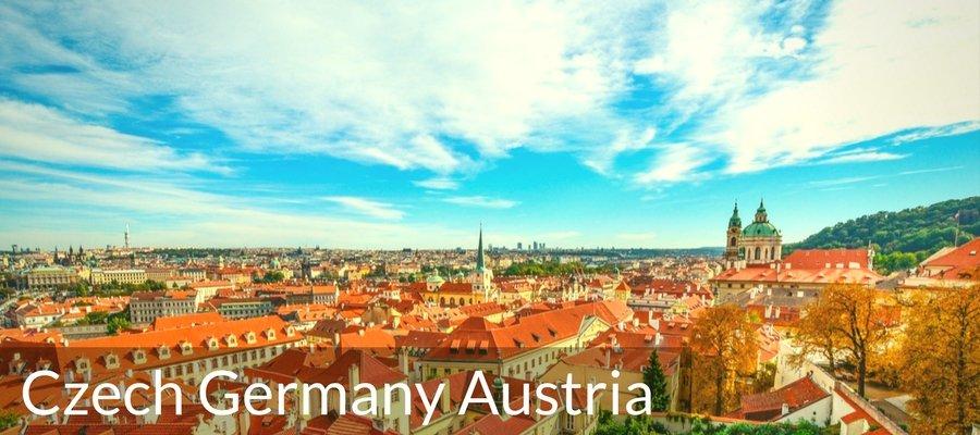 Cover Czech Germany Austria Bike Tours