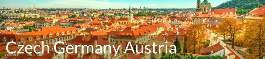 Bike Tours through Czech–Germany–Austria
