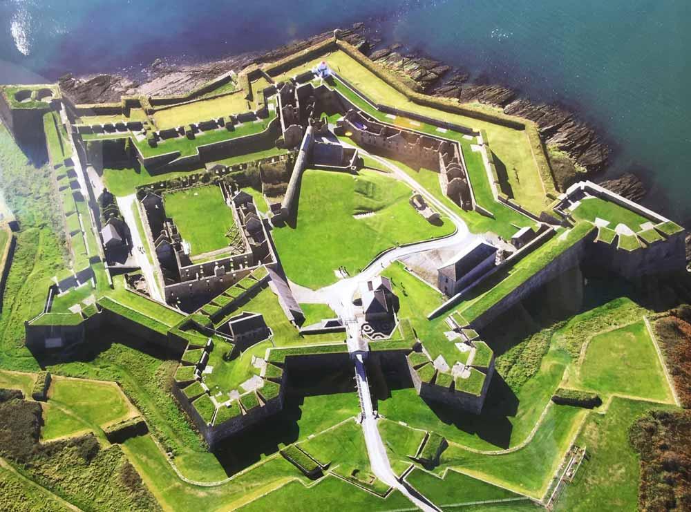 Charles Fort Kinsale aerial