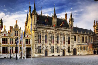 This image shows the Bruges City Hall