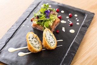This is an image of a typical dish from the Portfolio Restaurant