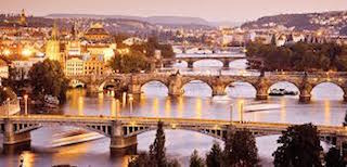 This is an image of the Charles Bridge of Prague