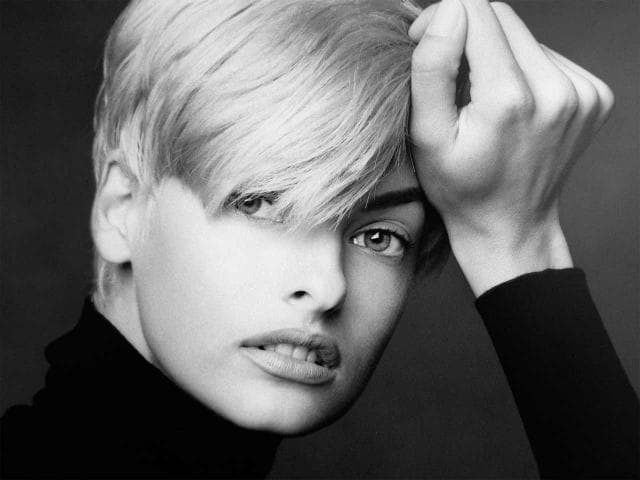 This is a picture of the model Linda Evangelista