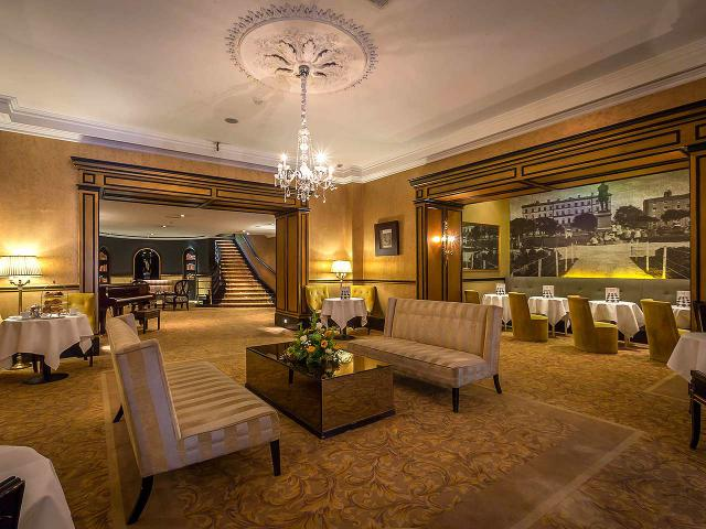 This is a picture of the Meryck Hotel's Saloon