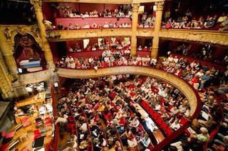 This is a picture of the Tours Opera