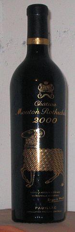 156px Mouton Rothschild 2000