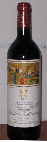 161px Mouton Rothschild 1991