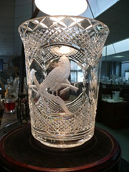 Waterford Crystal engraved glass