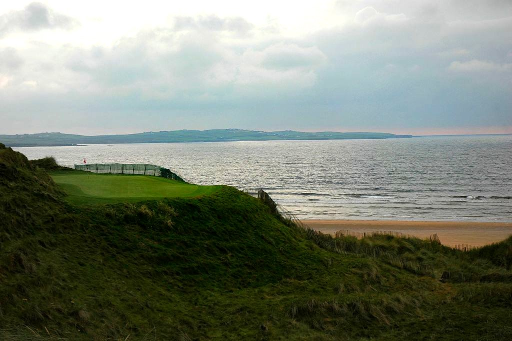 Burren Doonbeg Golf Hole