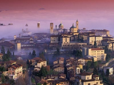 Image of the city of Bergamo